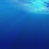 水下 向量例证