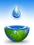 水世界 向量例证