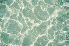 水反射摘要背景 免版税库存照片