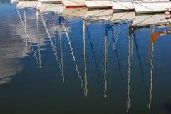 水反映。 图库摄影