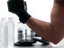 水合的健身 免版税库存图片