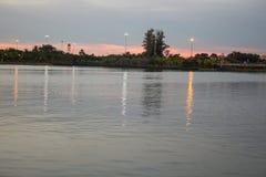 水和光印象 免版税库存图片