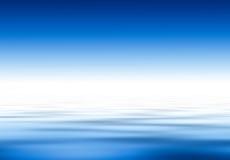水和天空…. 库存图片