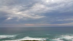 水和天空 库存图片