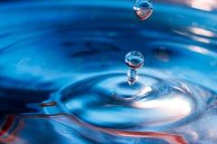 水和颜色-纹理 免版税库存图片