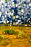 水和颜色-纹理 免版税库存照片