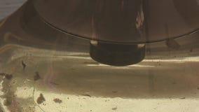 水在水烟筒玻璃烧瓶煮沸 股票视频