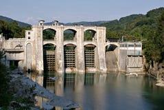 水坝斯洛文尼亚 图库摄影