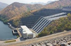 水坝水管 库存图片