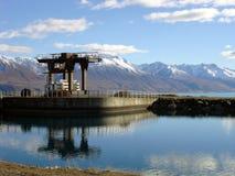 水坝水 库存照片