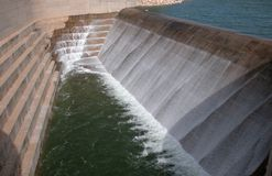 水坝水 免版税图库摄影