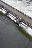 水坝河 库存照片