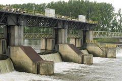 水坝河 图库摄影
