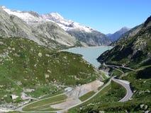 水坝瑞士 免版税库存照片