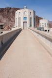 水坝真空吸尘器入口塔 免版税库存图片