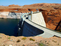 水坝真空吸尘器右侧 库存照片