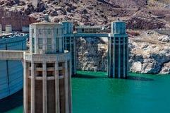 水坝真空吸尘器工厂 免版税库存照片