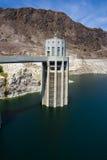 水坝真空吸尘器湖powell 库存照片