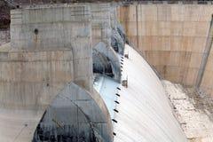 水坝真空吸尘器溢洪道 库存照片