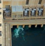 水坝真空吸尘器 免版税图库摄影