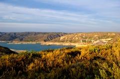 水坝西班牙tous巴伦西亚 免版税库存图片