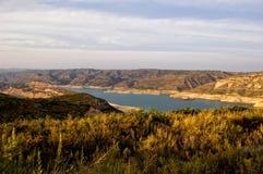 水坝西班牙tous巴伦西亚 库存图片