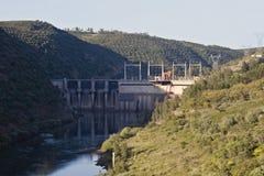 水坝谷 库存图片