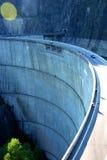 水坝路顶层vidraru 免版税图库摄影