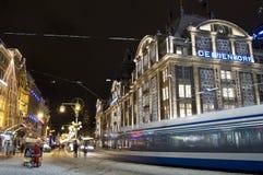 水坝阿姆斯特丹荷兰 免版税库存图片