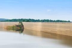 水坝集水量 免版税库存照片