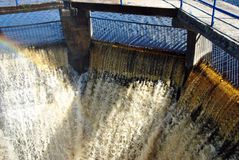 水坝 图库摄影