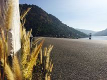 水坝 库存照片