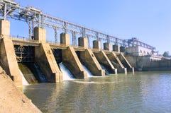 水坝 免版税库存图片