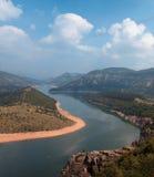 水坝kardzhali 免版税库存图片