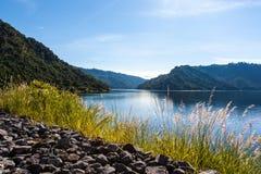 水坝khun丹泰国 免版税库存照片
