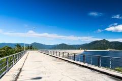 水坝khun丹泰国 库存图片