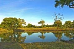 水坝klopperfontein 库存图片