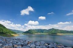 水坝kundan横向泰国 库存照片