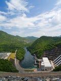 水坝nakharin sri 免版税库存照片