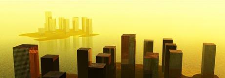 水城市 免版税图库摄影