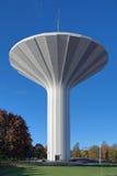 水塔Svampen在Orebro,瑞典 免版税图库摄影