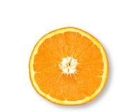 水多的桔子 库存图片