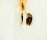 水多的梨片式 库存照片