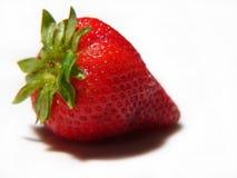 水多的草莓 免版税库存图片