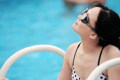水妇女 免版税图库摄影