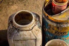 水容器 库存照片
