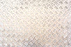水平不锈的板材背景的纹理 免版税库存图片