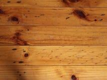 水平和垂直的无缝的木背景 免版税库存图片