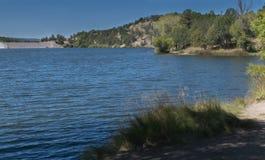 水平湖罗伯特东部岸线 库存图片