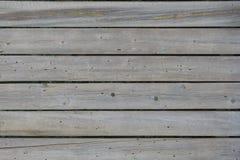 水平的与树皮甲虫踪影的葡萄酒灰色板作为背景的 库存图片